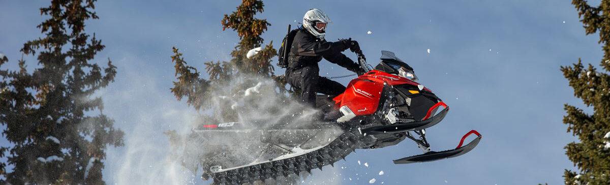 Обучение на снегоход